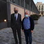 Eduardo Mendoza y José Luis Pablo Sánchez
